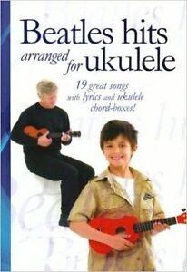 Beatles Hits Arranged for Ukulele, Music Sales