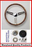 VW Wood Steering Wheel