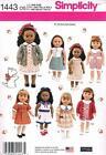 "18"" Doll Dress Pattern"