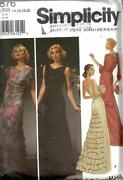 Vintage Gown Pattern Sewing