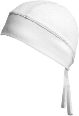 Do Wrap Stretch Cap - BNDNA003-18 Schampa Stretch Z-Wrap White Mesh White Do Rag/Skull Cap Solid