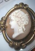 Large Antique Cameo