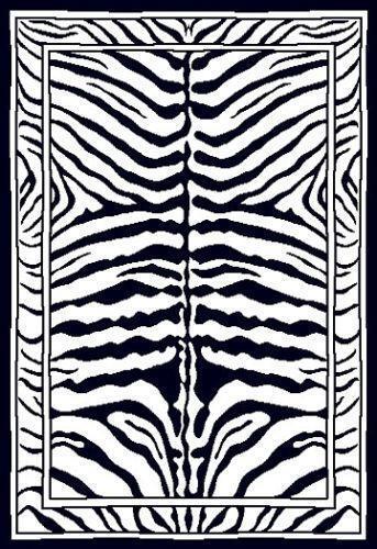 Zebra Rug 5 X 8 Ebay