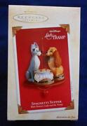 Hallmark Ornaments Lady and The Tramp
