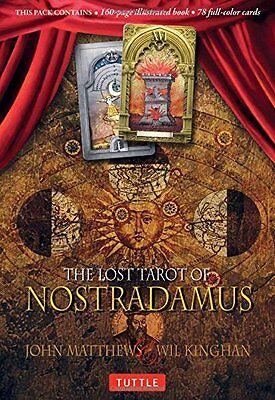 Lost Tarot of Nostradamus Tarot Deck Cards SET Wiccan Pagan Metaphysical
