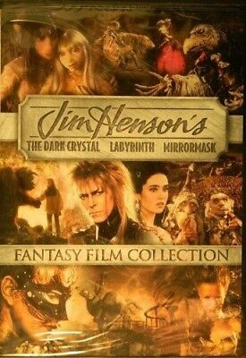 Dark Crystal / Labyrinth / Mirrormask [New DVD] 2 Pack