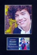 Harry Styles Autograph