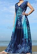 Plus Size Long Evening Dress