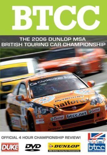 BTCC British Touring Car Championship - Official Review 2006 (New DVD)