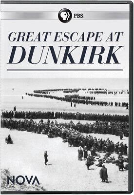 Nova  Great Escape At Dunkirk  New Dvd