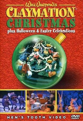 Claymation Christmas Plus Halloween & Easter Celeb [New - Halloween Dvds