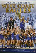 West Coast Eagles Poster