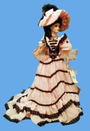 "Rare Franklin Mint Marilyn Monroe Porcelain Doll /""Forever Marilyn/"" New with COA"