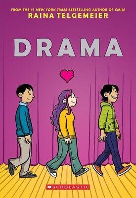Drama [New Book] Graphic Novel, Paperback