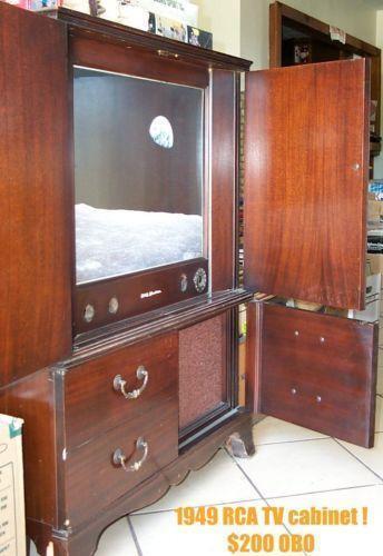 Vintage Tv Cabinet Ebay