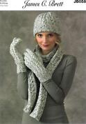 Ladies Hat Scarf Gloves