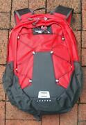 North Face Backpack Red