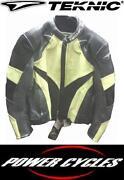 Teknic Leather Jacket