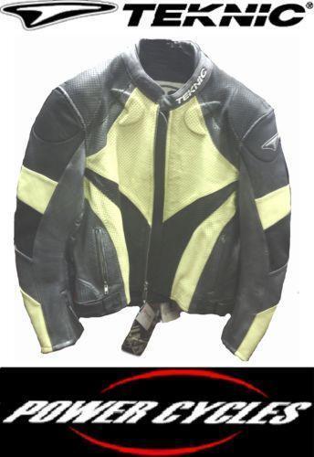 Teknic Leather Jacket Ebay