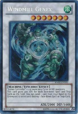 YUGIOH Genex / Genex Ally Deck Complete 40 Cards + Extra Deck