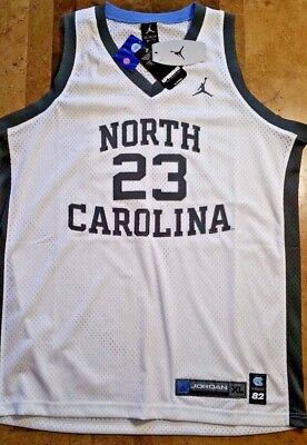 Authentic Nike North Carolina Tar Heels Michael Jordan Jersey Uprising Retro UNC