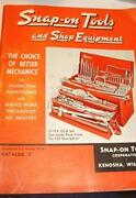 Snap on Catalog