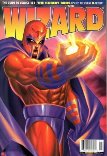 Wizard: The Guide to Comics November 1995 #51 X-Men Cartoon Avengers