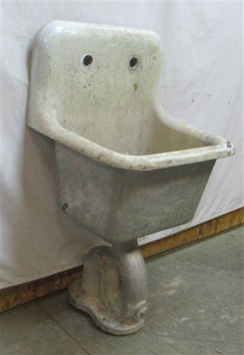Vintage American Standard Porcelain Kitchen Sink
