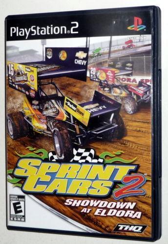 sprint car racing games ebay. Black Bedroom Furniture Sets. Home Design Ideas