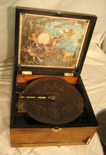 Polyphon Music Box Ebay