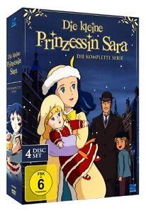 DIE KLEINE PRINZESSIN SARA DIE KOMPLETTE SERIE 46 FOLGEN DVD