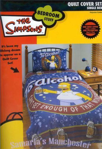 Simpsons Bedding Ebay