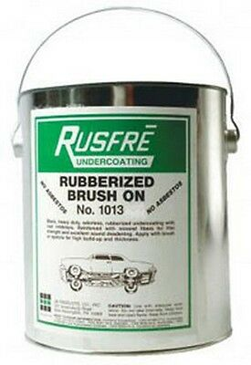 Rusfre 1013 Brush-On Rubberized Undercoating, 1-Gallon (BLACK)