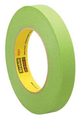 "3M 26336 Scotch 233 1/"" x 55m Green Masking Tape"