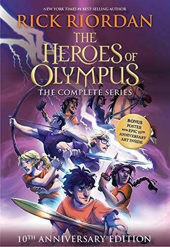 The Heroes of Olympus Paperback Boxed Set PAPERBACK 2019
