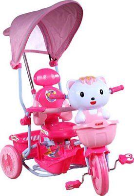 ARTI Dreirad Kotek New Pink Kätzchen Rosa Kinderfahrrad Babyfahrrad Fahrrad