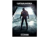 2014 - Sebastian Stan 24x36 Movie Poster Captain America The Winter Soldier