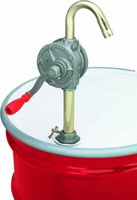 Lumax Gray Lx-1318 Rotary Barrel Pump For Transferring Non-corrosive Petrole...