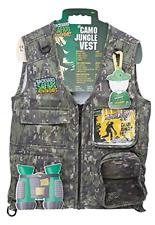 Backyard Safari Jungle Camo Cargo Vest | eBay