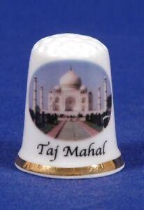 Taj Mahal India Bone China Thimble B/39