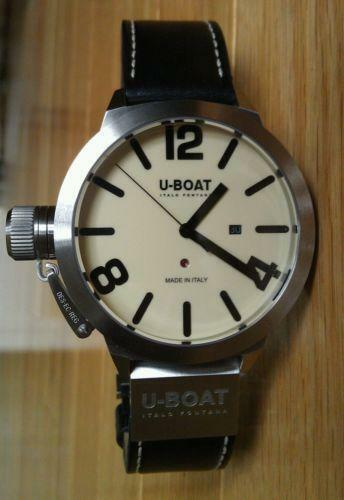 U Boat Watch Men S Welder Classico Luxury Ebay