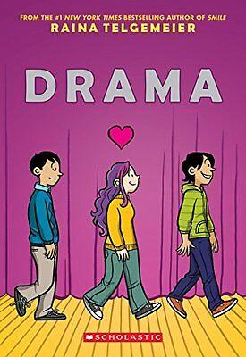 Drama by Raina Telgemeier (Paperback)