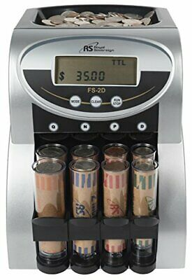 Commercial Coin Counter Fast Sorter Machine Sorting Digital Lcd Money Change New