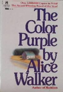 THE COLOR PURPLE--Alice Walker--Free Shipping in B.C.