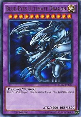 Blue-Eyes Ultimate Dragon (LDK2-ENK40) - Ultra Rare - Near Mint - 1st Edition