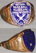 Hall of Fame Ring