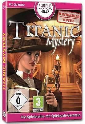 Pc Computer Spiel Titanic Mystery Neunew