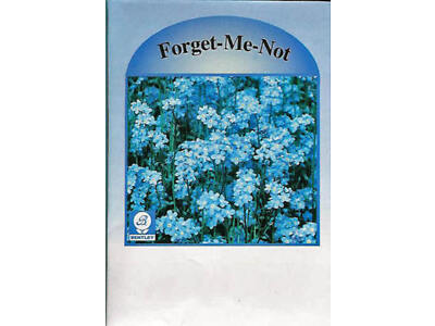 Flower Seed Packets, Forget-Me-Not, 250 Pkg - Marketing Advertising Promotion