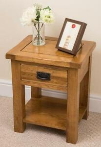 Oak lamp table ebay oak side lamp table aloadofball Image collections