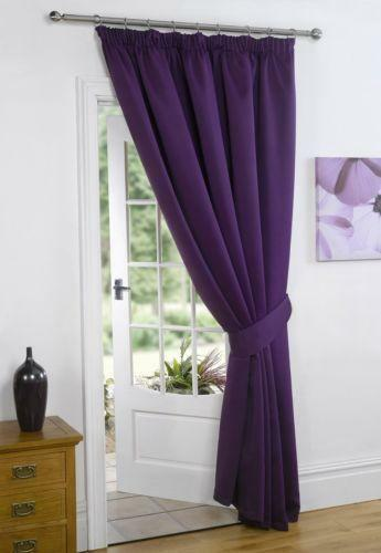 door curtain 66 x 84 ebay. Black Bedroom Furniture Sets. Home Design Ideas